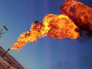 Natural Gas Flare Stack