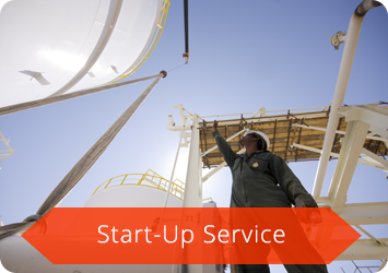 Start Up Gas Flare Service